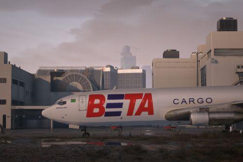 BETA Cargo ( Brazilian Express Transportes Aéreos ) PP-BSE 707