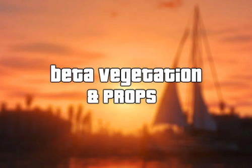 Beta Vegetation & Props