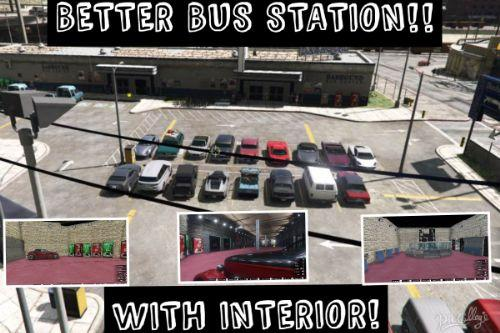 Better Bus Station With Interior [Map Editor]