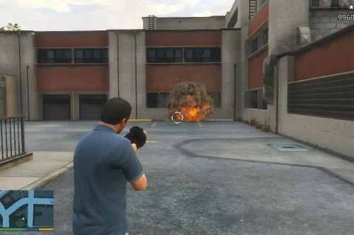 Better grenade launcher sound effect