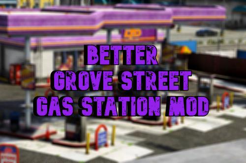 Better Grove Street Gas Station | FiveM Ready