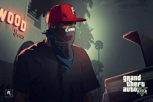 De0e01 red gta gangster