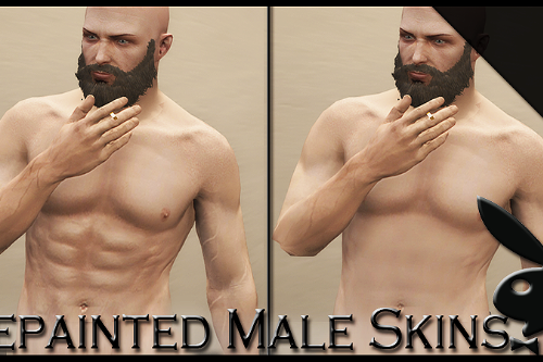 "Better Male skin Vol 3 ""Softer"" W/ HD Skins 'Updated"""