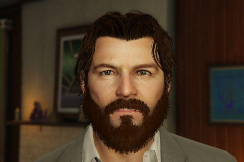 Better Michael De Santa (Face, Beard & Hair)
