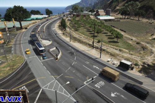 Better Paleto Bay Highway [YMAP]