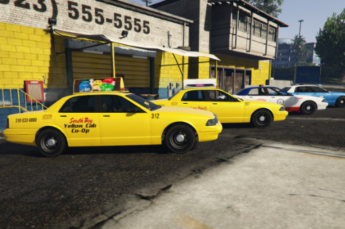 Beverly Hills and Independent Cab liveries and fixes
