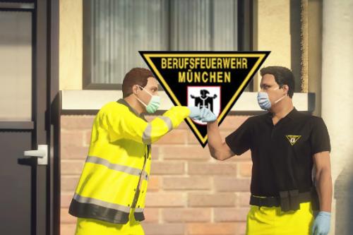 BF München Rettungsdienst Uniform