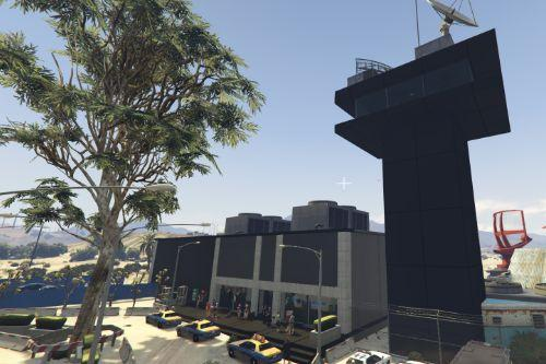 Big & detailed Sandy Shores Airport map [Menyoo]