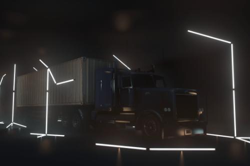 BIG Lightroom, a NFS Heat Main Menu like Showroom for Large Trucks [YMAP]