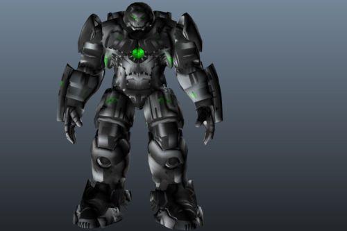 HulkBuster - RETEXTURE - METALLO