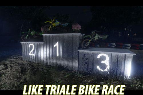 Bike triale / skill / ability race ( YMAP )