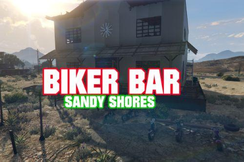 Biker Bar Sandy shores ( YMAP )