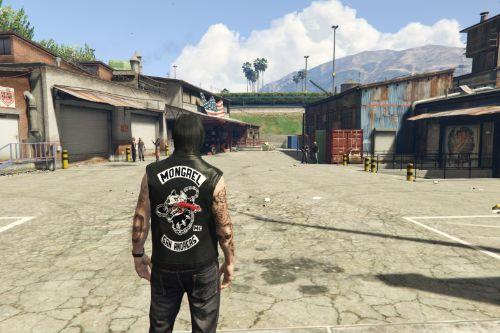 Biker Jacket Mongrel MC San Andreas ( Days gone ) [FiveM] [Replace]