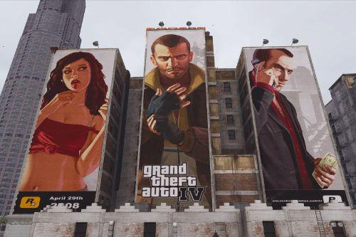Billboard Nostalgia GTA IV