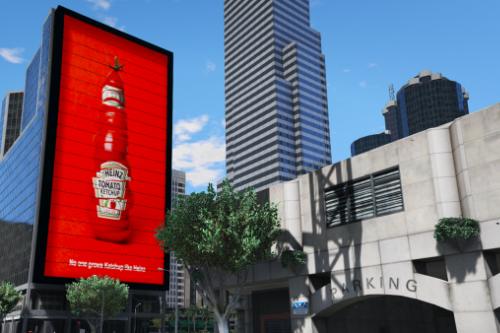 Animated Billboards Vespucci - 5 Pack