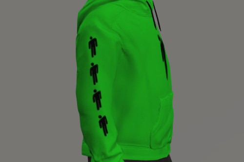 Billie Eilish hoodie for FiveM And Singleplayer. Mp male/Female