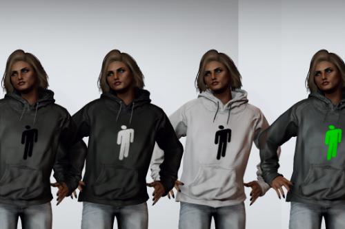 Billie Eilish hoodie for MP Female