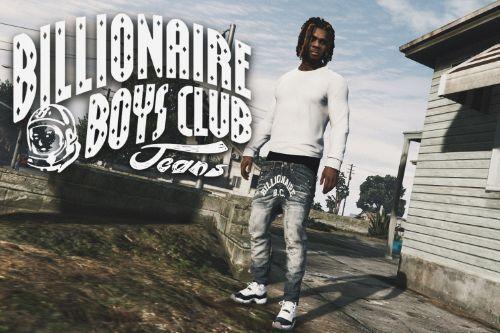 Billionaire Boys Club Sagged Jeans for Franklin
