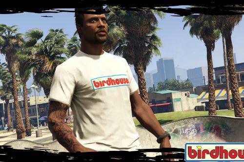 """Birdhouse """"OG"""" White T-Shirt"""