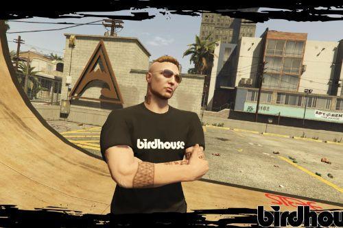 "Birdhouse ""Toy"" Black T-Shirt"