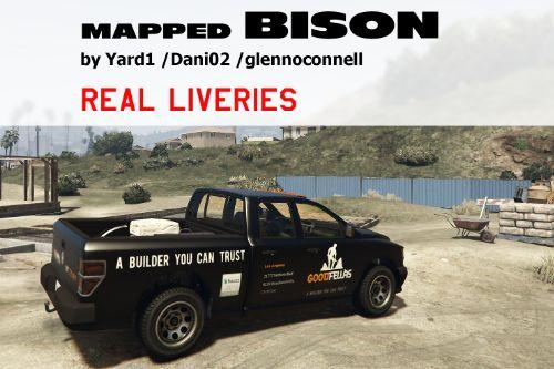 BISON MAPPED [REAL LIVERIES]