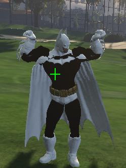 Black And White Batman [Add-On Ped]