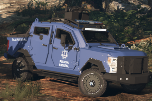 Black Mamba QRV B6 TPS Armoring [Replace l FiveM]