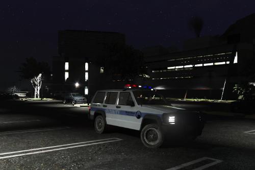 Black Mesa Security Jeep