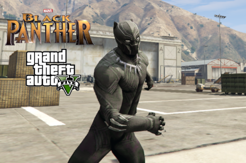 Black Panther from Civil War [Add-On Ped]