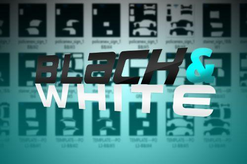 Black & White Template Pack