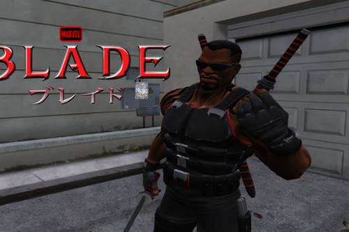 Blade [Add-On Ped]