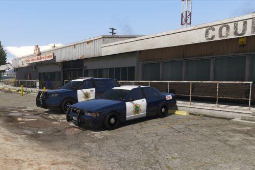 Blaine County Sheriff (San Jose based) liveries