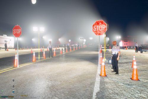 Blaine County D.U.I Checkpoint [Menyoo]