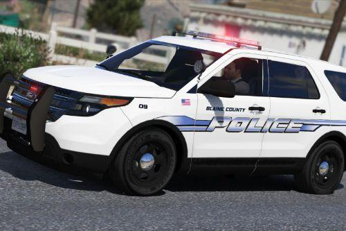 Blaine County Police Mini Texture Pack
