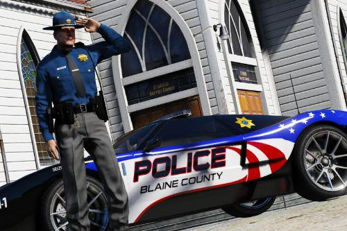 Blaine County Police Speed Enforcement Officers | Need for Speed Hot Pursuit