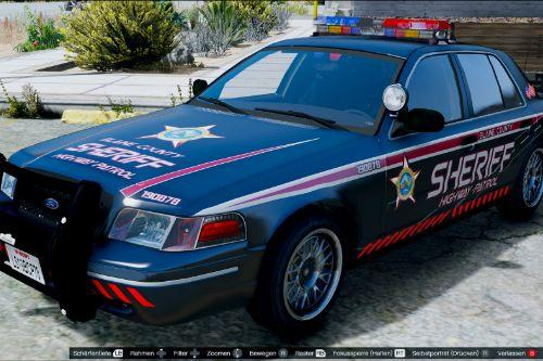 Blaine County Sheriff for F5544 CVPI