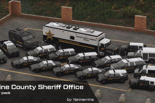 Blaine County Sheriff Office (Fictional) Livery Pack [4K & 2K]