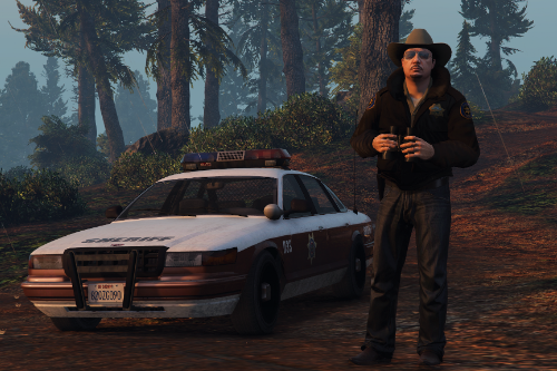 Blaine County Sheriff Retro pack [Add-On/Replace] [Default style]