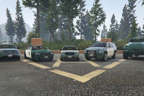Blaine County Sheriff Vehicle Pack (Winter Update)