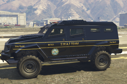 Blaine County Sheriffs Office S.W.A.T Riot (Paint Job)