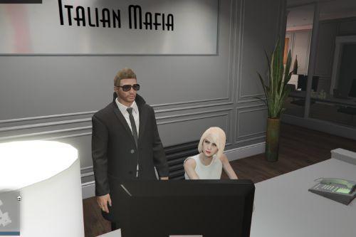 Blonde Secretary for Finance and Felony