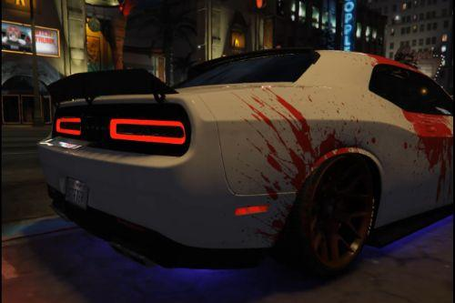 Blood Line livery for Dodge Challenger SRT (shaker)
