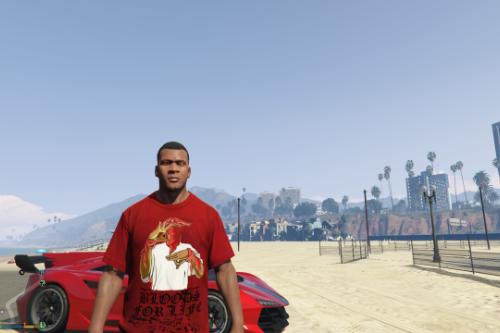 Bloods For Life Shirt For Franklin