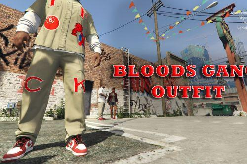 Bloods Hood Day  - Gang Outfit for Franklin