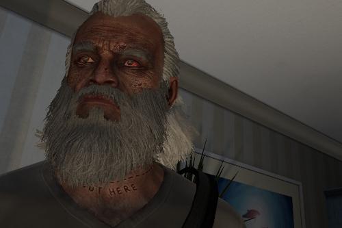 Bloodshot alternate eye for Trevor