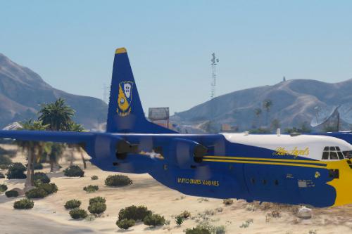 "Blue Angels C130 ""Fat Albert"" Paintjob"