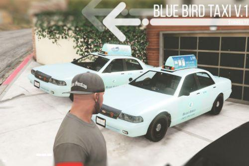 Blue Bird Taxi (Indonesian Taxi)