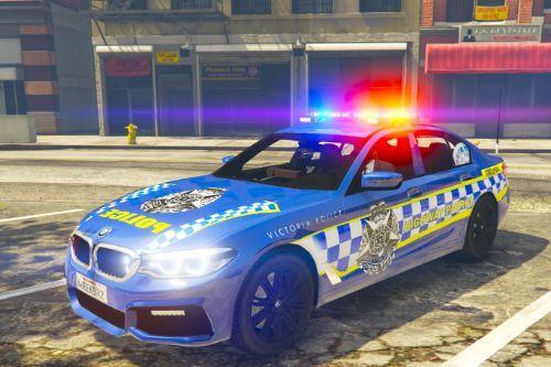 blue hwy patrol bmw 530d