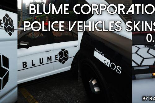 Blume Law Enforcement Vanilla Skin Pack [ Watch Dogs ]