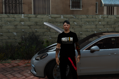 Blusa Free Fire [Replace] [Fivem]